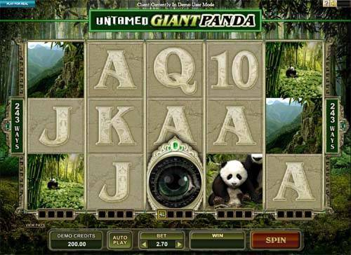 Untamed Giant Panda slot free play demo