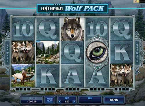 Untamed Wolf Pack slot free play demo