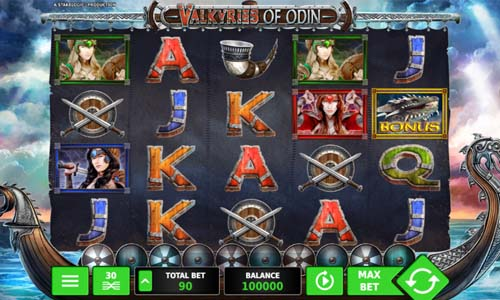 Valkyries of Odin slot