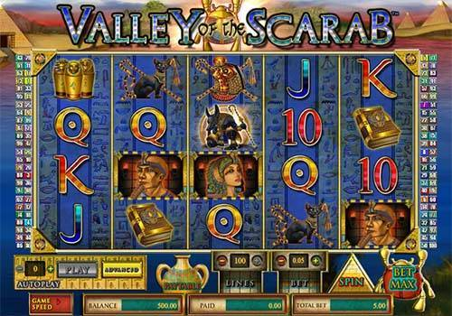 Valley of the Scarab slot
