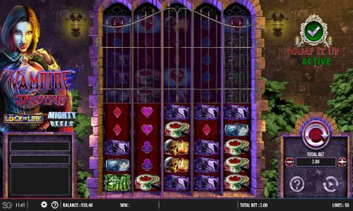 Vampire Desire Videoslot Screenshot