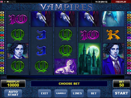 Vampires slot Amatic