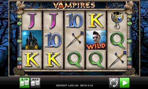 Vampires Videoslot Screenshot