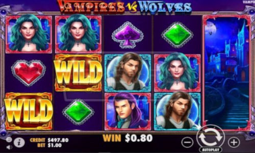 Vampires vs Wolves slot