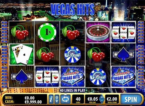 vegas casino games list