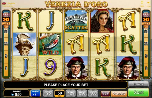 Venezia D`oro slot free play demo