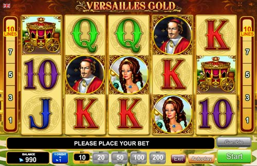 Versailles Gold screenshot