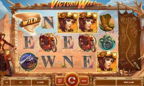 Victoria Wild Videoslot Screenshot