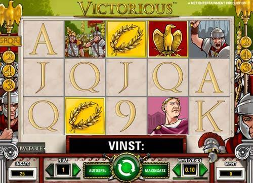 Victorious slot free play demo