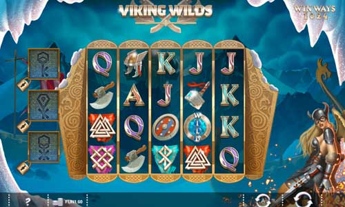 Viking Wilds Videoslot Screenshot
