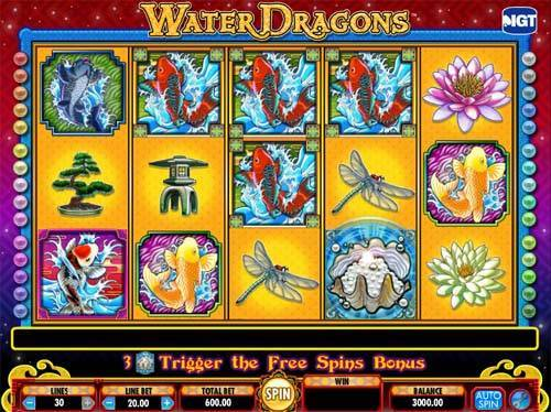 dragon slots games online