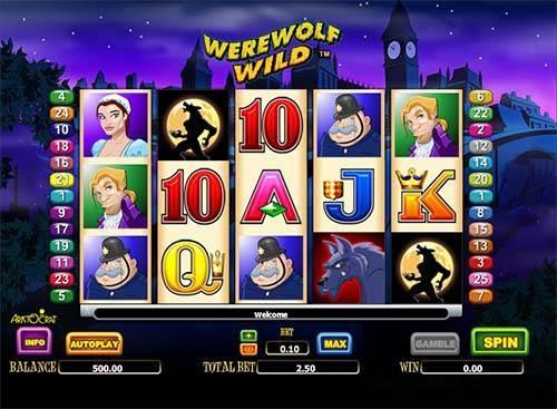 Werewolf Wild slot free play demo
