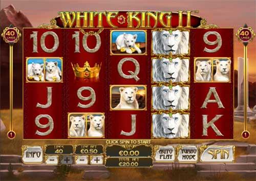 white king casino game