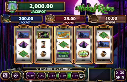 Wicked Riches slot