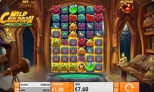 wild cauldron slot review