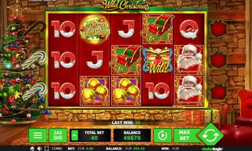 Wild Christmas Videoslot Screenshot