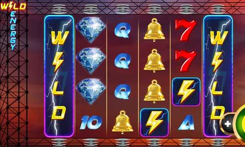 Wild Energy Videoslot Screenshot