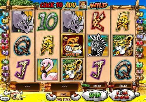 Wild Gambler slot free play demo
