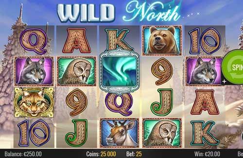 Wild North Videoslot Screenshot