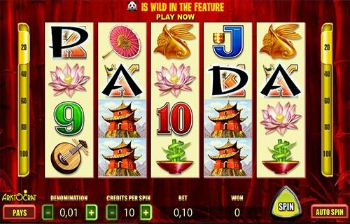 free casino slots wild panda