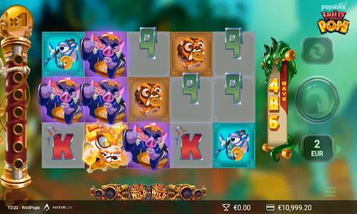 Wild Pops Videoslot Screenshot