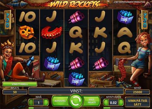 Wild Rockets slot free play demo