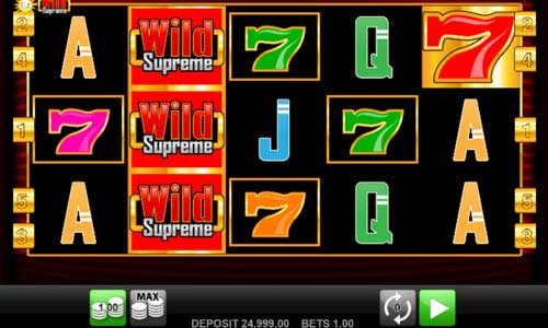 Wild Supreme slot