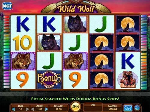 Play wild wolf casino game google casino slot games