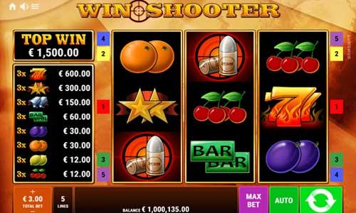 Win Shooter Videoslot Screenshot