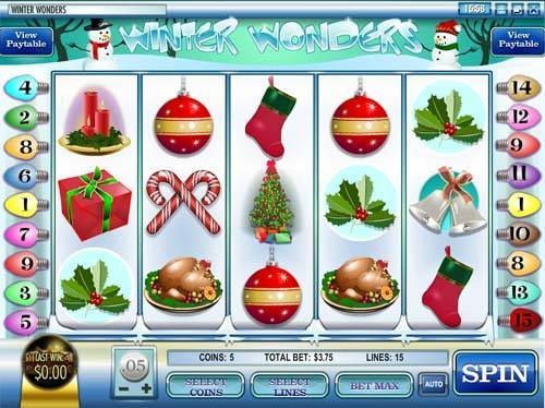 Winter Wonders slot free play demo