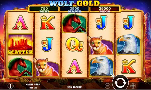 wolf gold slot overview and summary