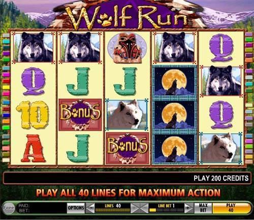 Wolf Run slot free play demo