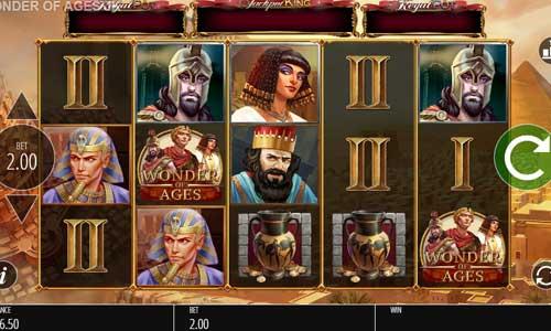 Wonder of Ages Videoslot Screenshot
