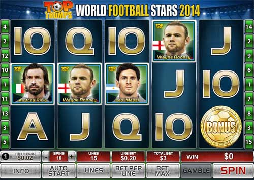 World Football Stars 2014 slot