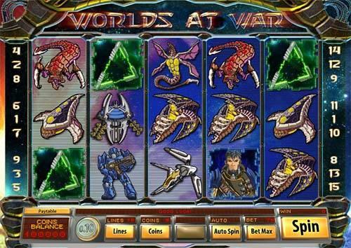 Worlds at War slot free play demo