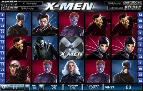 free online slots x men