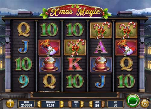 xmas magic slot review