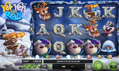 Yak Yeti and Roll Videoslot Screenshot