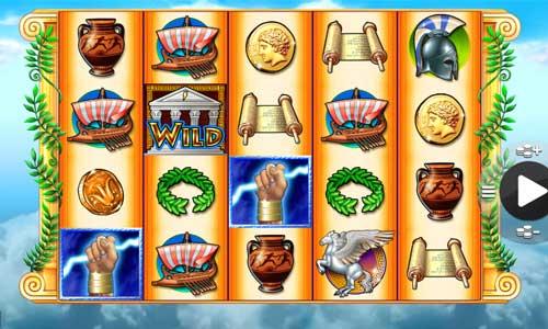Zeus II Videoslot Screenshot
