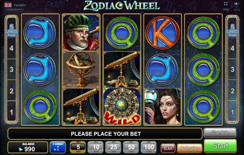 Zodiac Wheel Slot Egt Free Play Demo Review Where To Play Casinogamesonnet Com