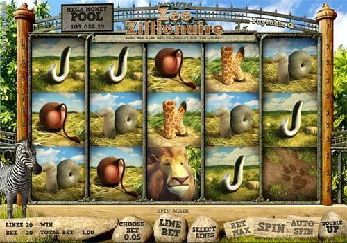 Zoo Zillionaire slot