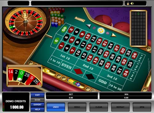 American Roulette screenshot