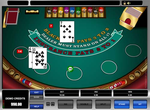 blackjack online casino games onl