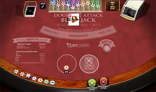 When do you place a bet in blackjack
