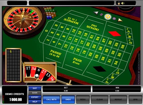 play french roulette online free
