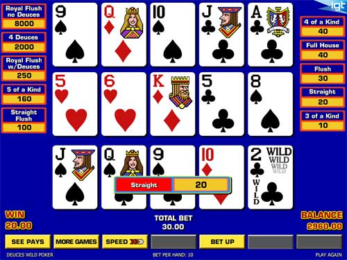 Triple Play Draw Poker